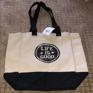 Life is Good Tote
